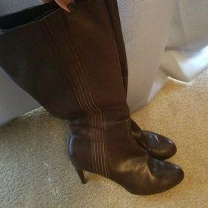 Cole Haan Shoes - Knee high soft brown leather Cole Haan boots